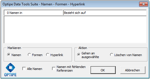 Namen Formen Hyperlink