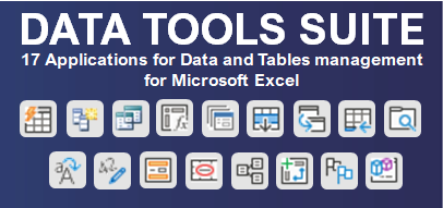 .Data Tools Suite.
