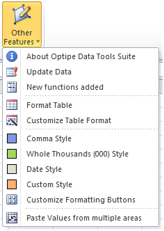 Data Tools Suite Other Features
